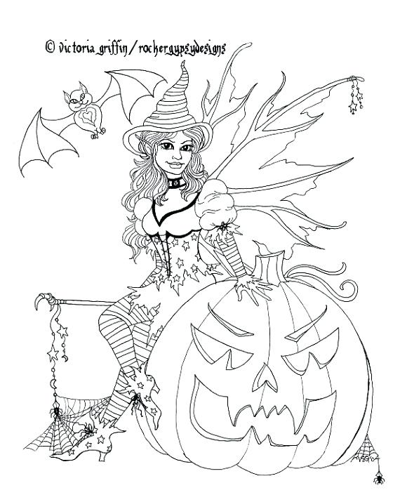 570x715 Gothic Coloring Pages Coloring Page Fairy Coloring Page Printable
