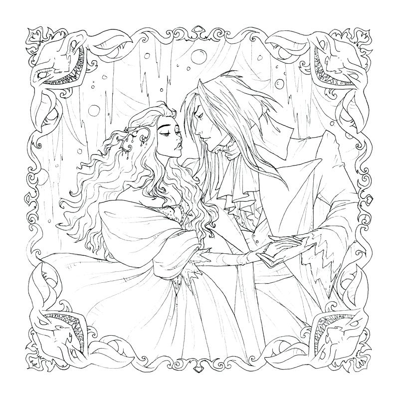 800x800 Digital Coloring Book Labyrinth Digital Coloring Page