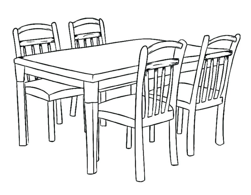 800x622 Table Coloring Dogs Dinner On The Table Coloring Page Periodic