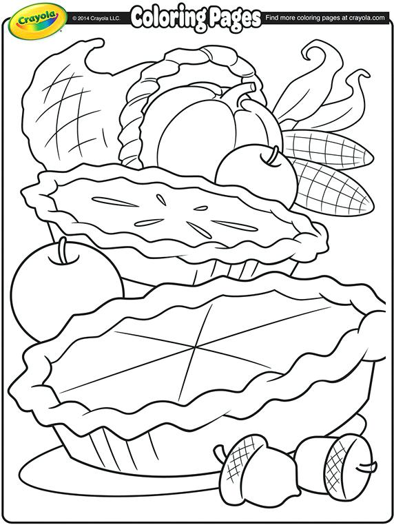 572x762 Thanksgiving Feast Coloring Pages Thanksgiving Feast Coloring