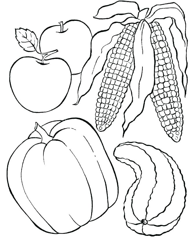 670x820 Dinner Coloring Pages Turkey Dinner Colouring Pages Page Dinner