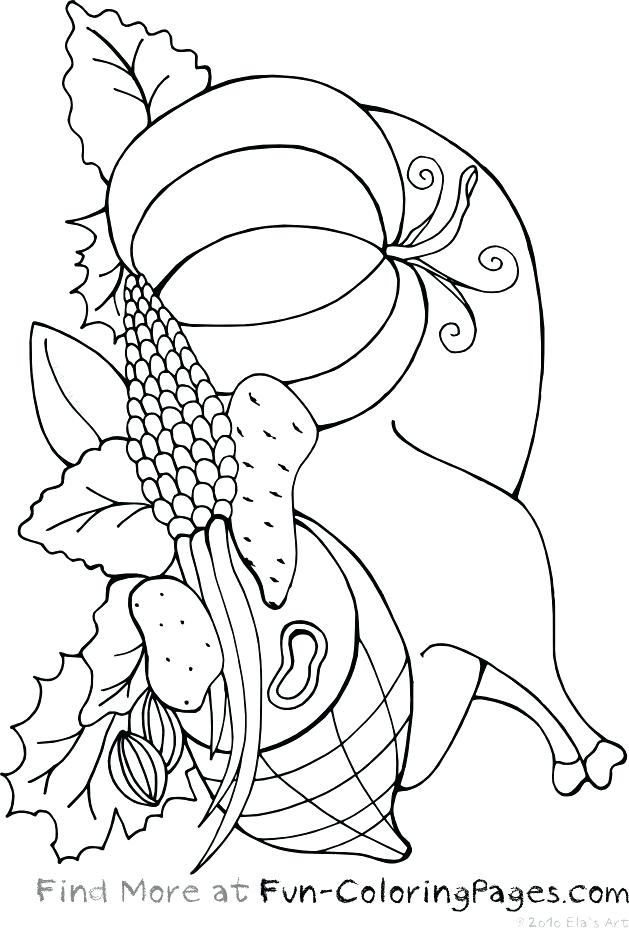 629x928 Thanksgiving Feast Coloring Page Coloring Page Thanksgiving