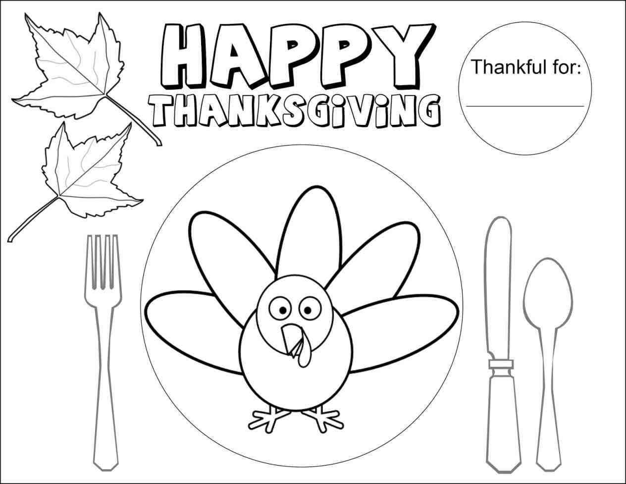 1264x977 Thanksgiving Dinner Table Drawing