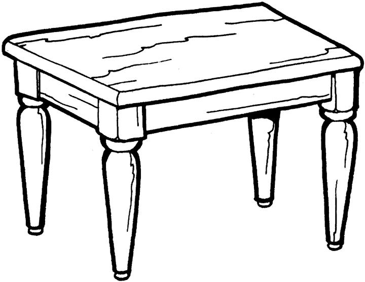 720x555 Best Photos Of Table Coloring Page