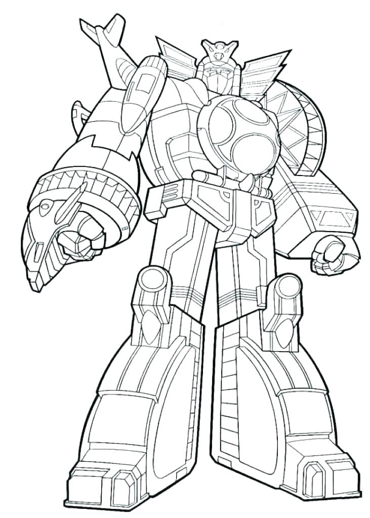 Dino Charge Coloring Pages at GetDrawings | Free download