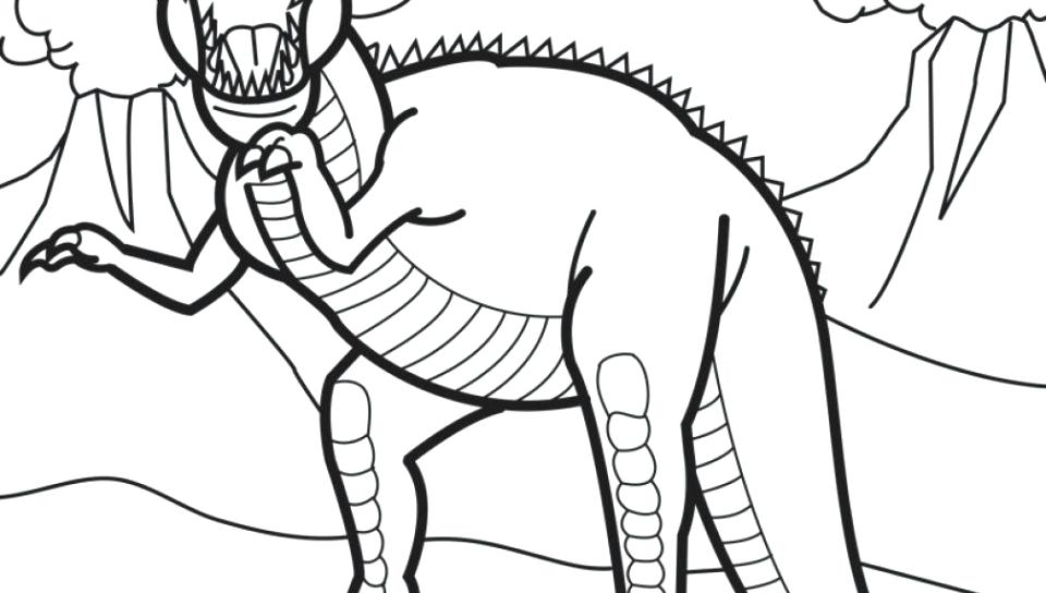 960x544 Dino Squad Coloring Pages Coloring Pages Of Saurs To Print Free