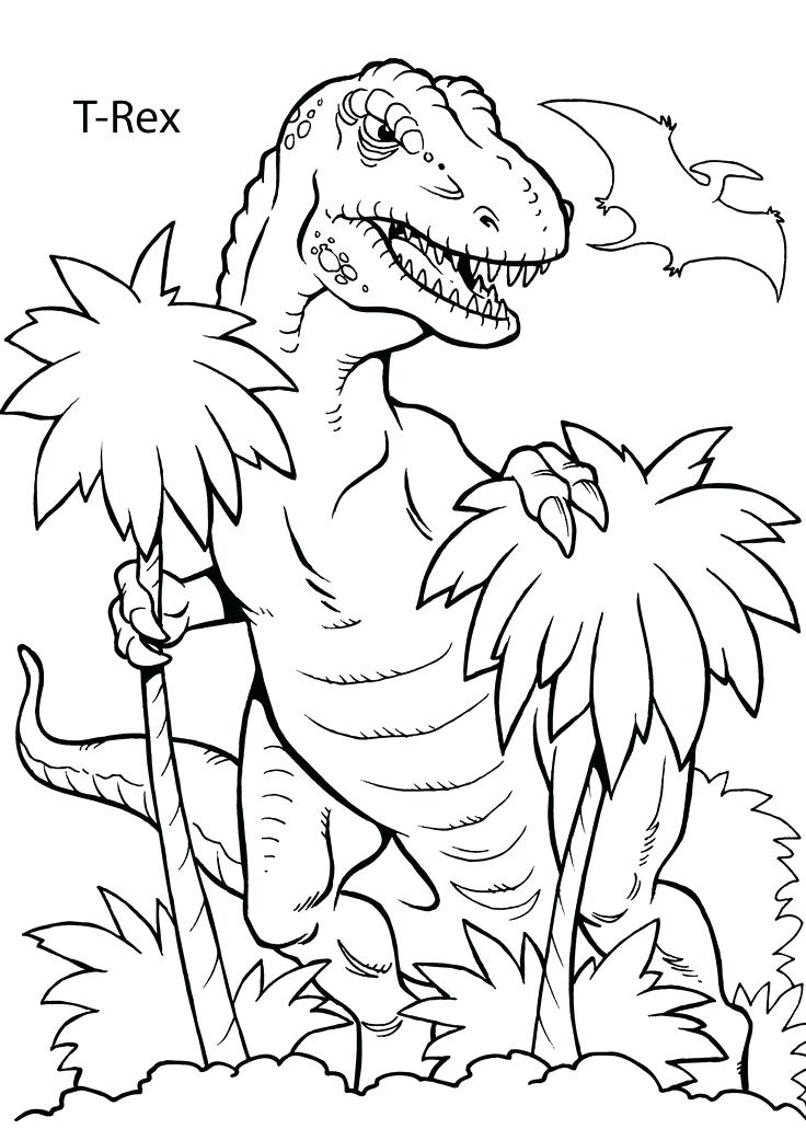 736x1031 Outstanding Dinosaur Coloring Page On Gallery Coloring Ideas