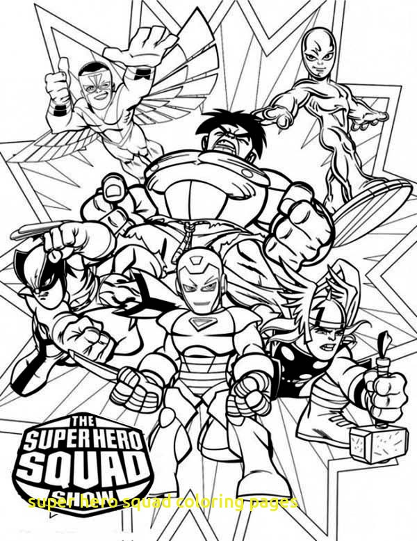 600x778 Super Hero Squad Coloring Pages