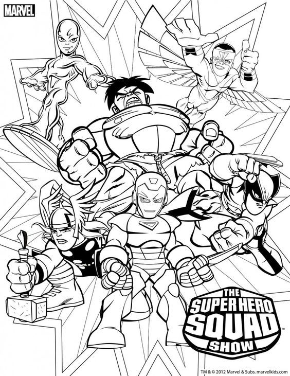 564x731 Super Hero Squad Coloring Pages Lineart Capt America