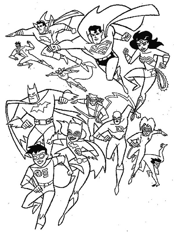 600x797 Super Hero Squad Coloring Pages To Print