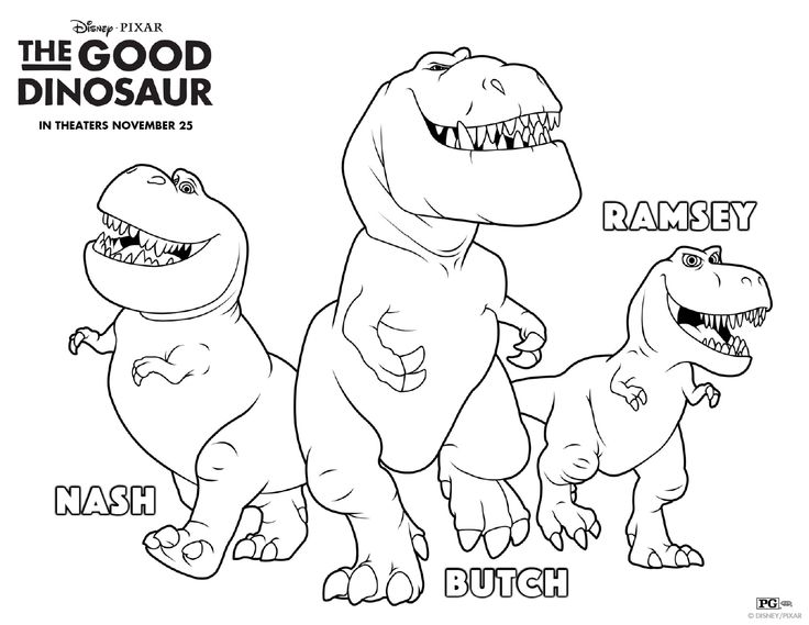 Dinosaur Birthday Coloring Pages