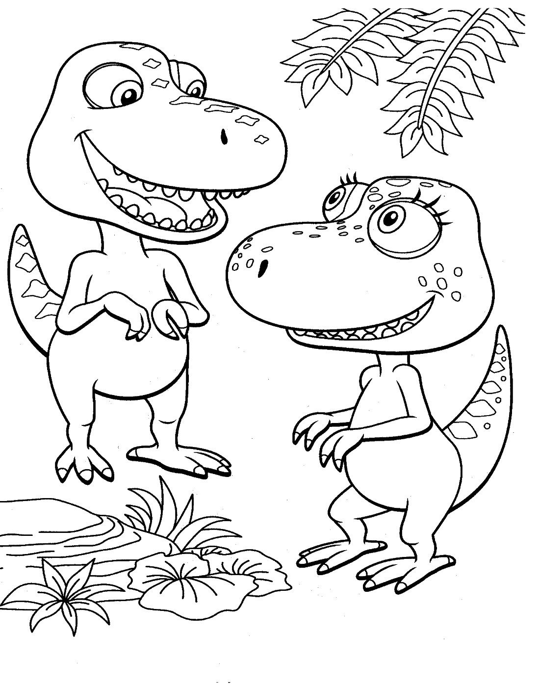 1099x1400 Dinosaur Train Coloring Pages Dinosaurs Pictures And Facts