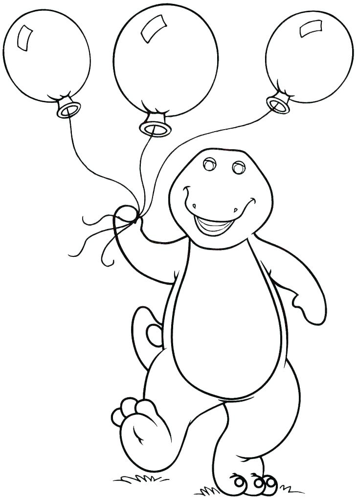 730x1024 Barney Printable Coloring Pages Barney Happy Birthday Printable