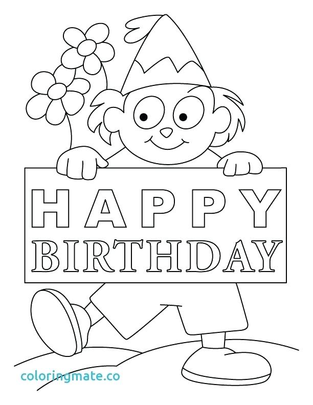 612x792 Birthday Card Coloring Pages Birthday Card Coloring Page Free