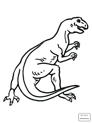 375x500 Dinosaur Color Page Awesome Coloring Pages Dinosaurs For Coloring