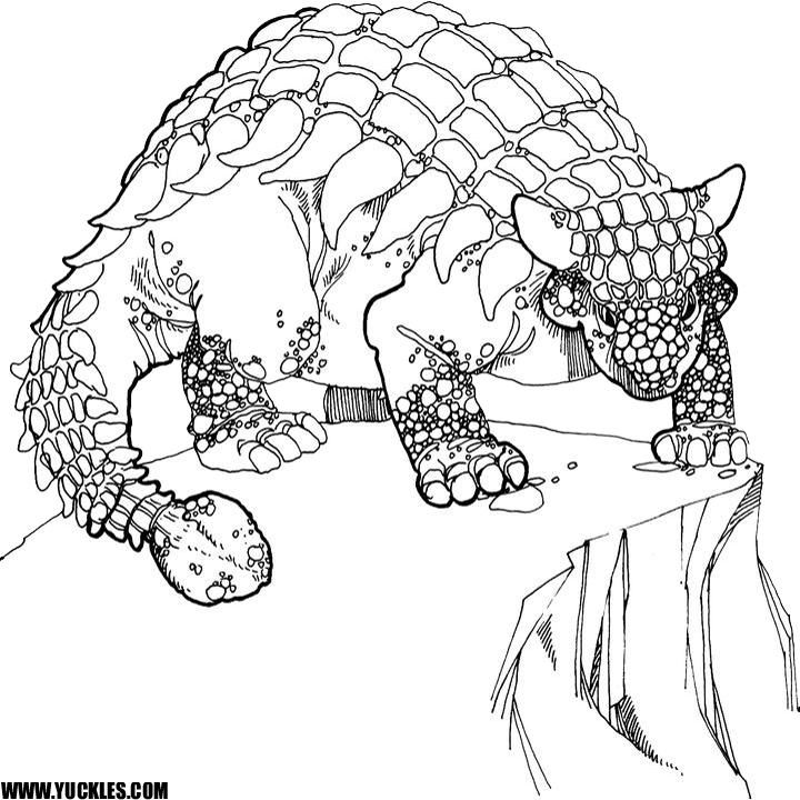 720x720 Dinosaur Coloring Pages