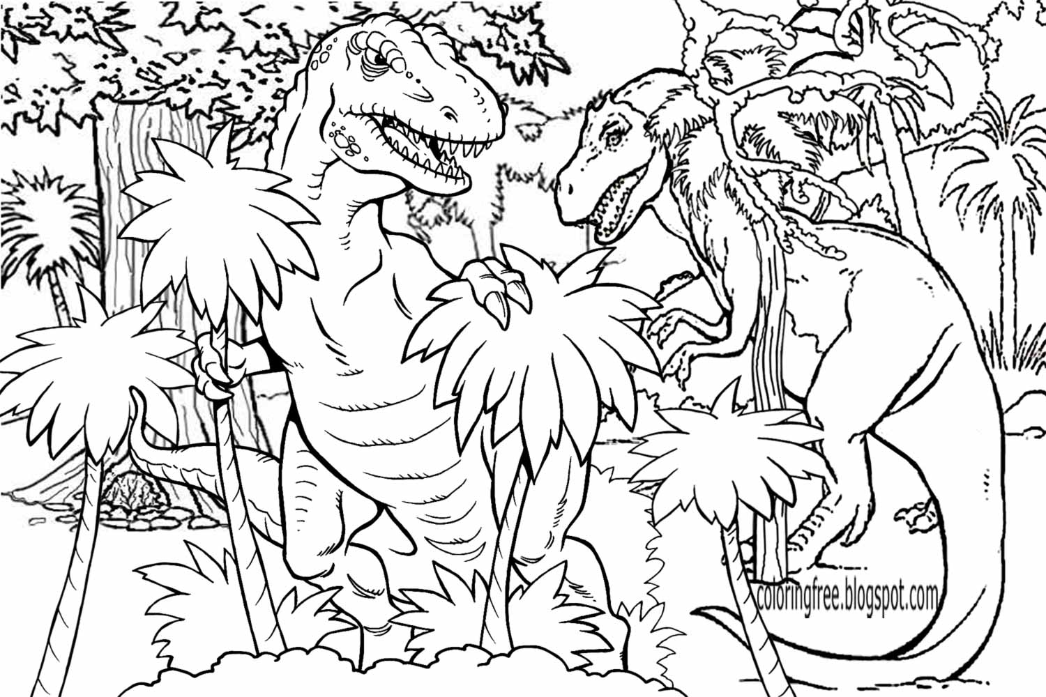 Dinosaur Coloring Pages For Adults at GetDrawings.com | Free ...