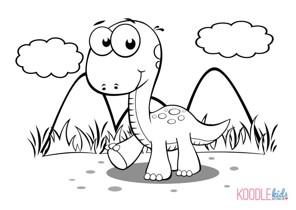 1024x726 Ingenious Idea Dinosaurs Coloring Pages Printable Rex Realistic