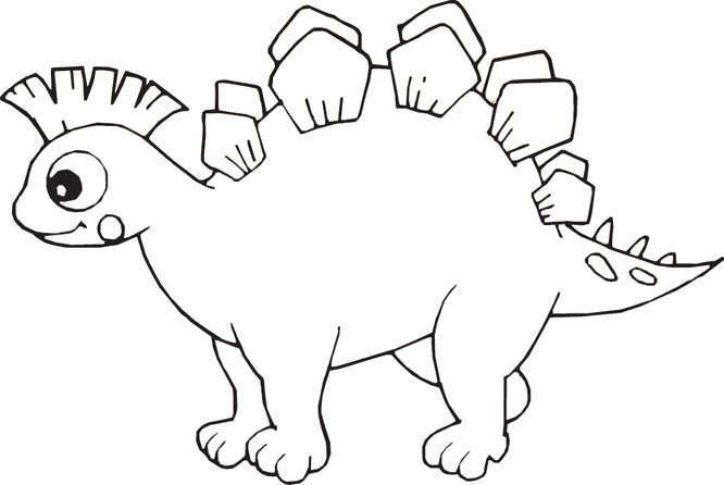 666x446 Dinosaur Coloring Pages, Fish Coloring Pictures, Free Kids