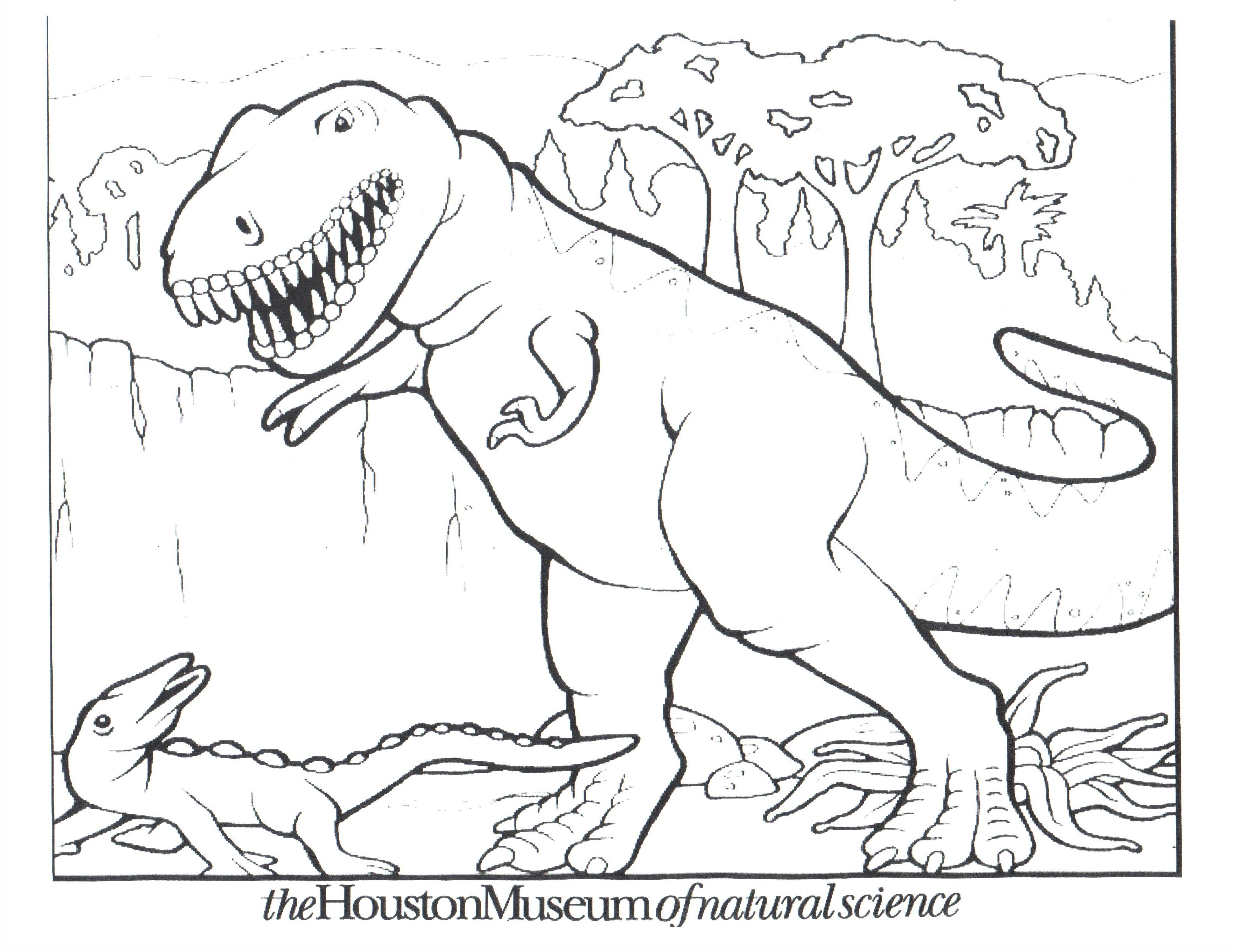 3300x2550 Dinosaur Coloring Pages For Toddlers