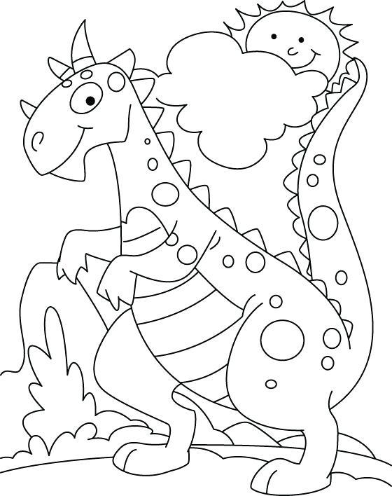560x708 Kindergarten Coloring Sheets Dinosaur Coloring Pages Kindergarten