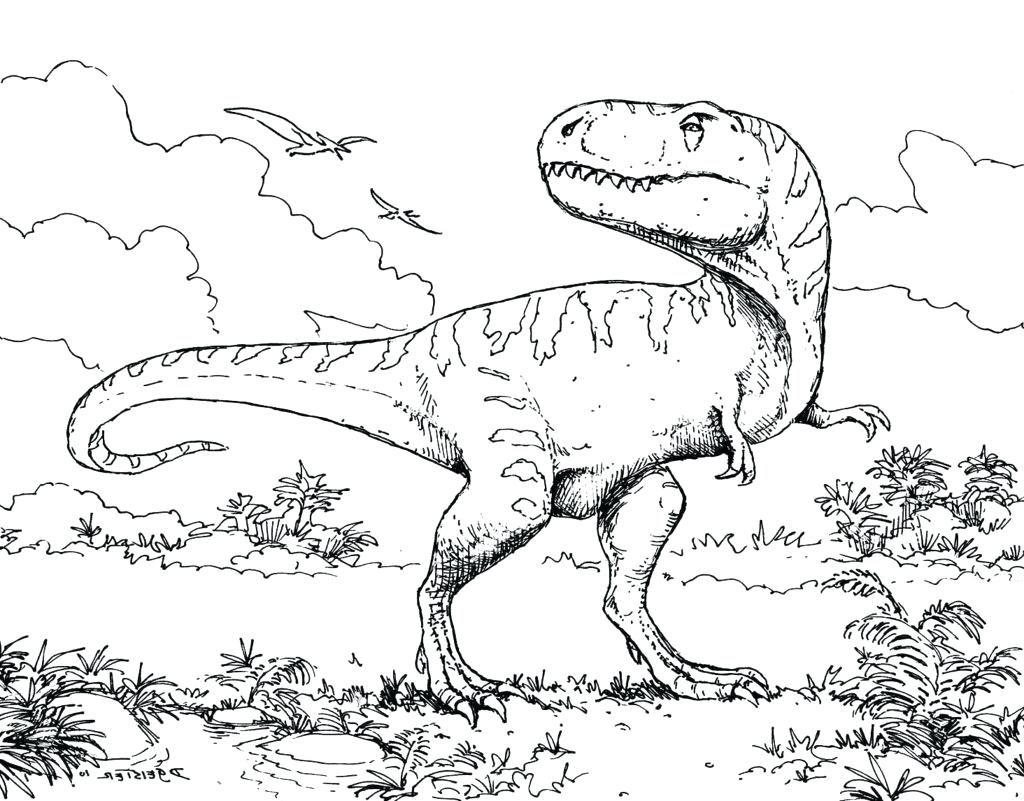 1024x801 Coloring Pages Dinosaur Coloring Page Awesome Extinct Animals
