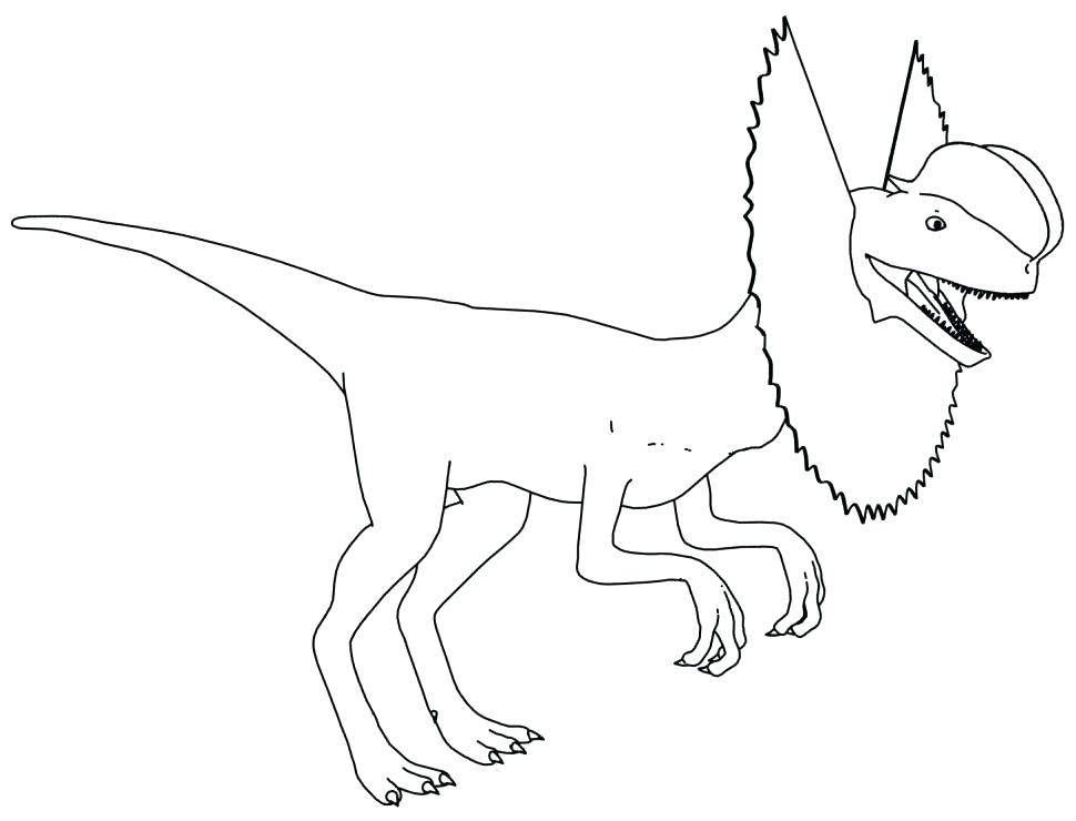 970x740 Dinosaur Coloring Pages