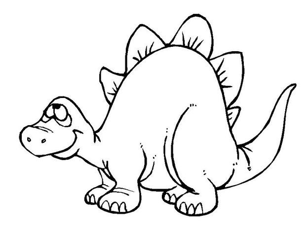 620x475 Dinosaur Coloring Pages