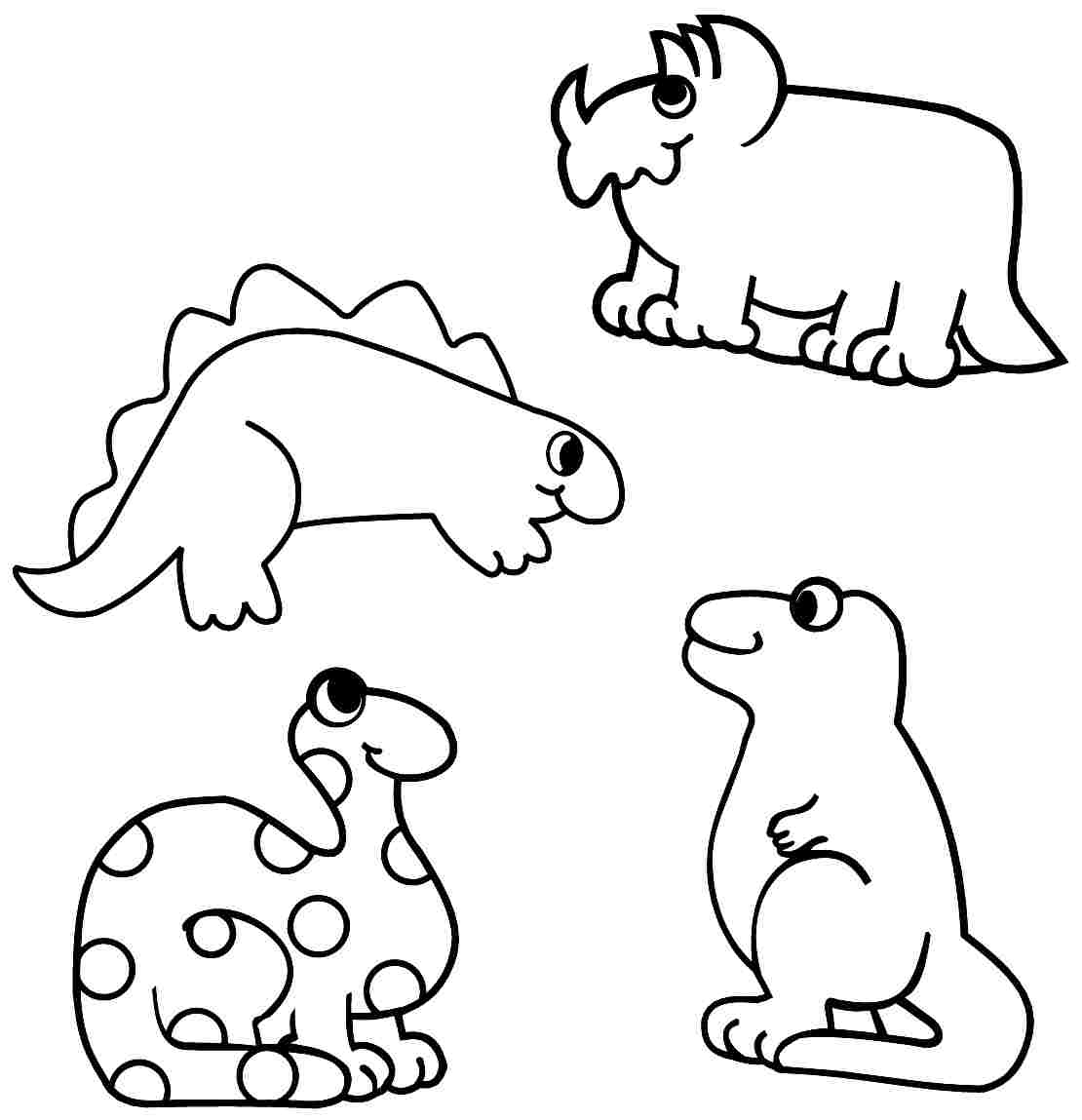 1110x1149 Dinosaur Coloring Pages Preschool Printable Dinosaur Coloring