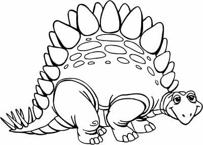 400x286 Dinosaur Coloring Pages For Kids