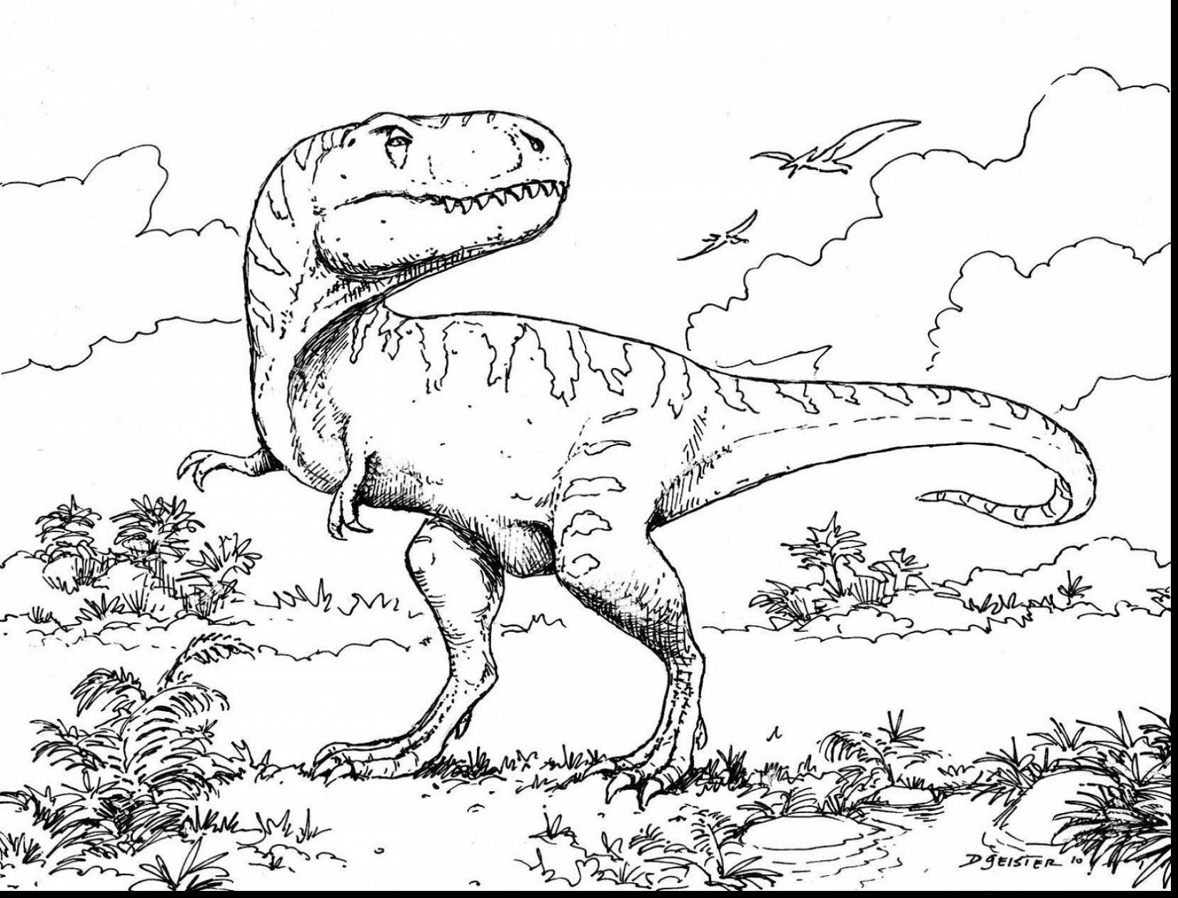 1650x1259 Popular Dinosaur Coloring Printouts Pages Of Dinosaurs