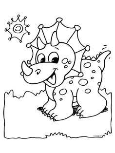 Dinosaur Coloring Pages For Toddlers At Getdrawings Com Free For