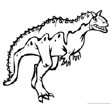 230x230 Top Free Printable Unique Dinosaur Coloring Pages Online