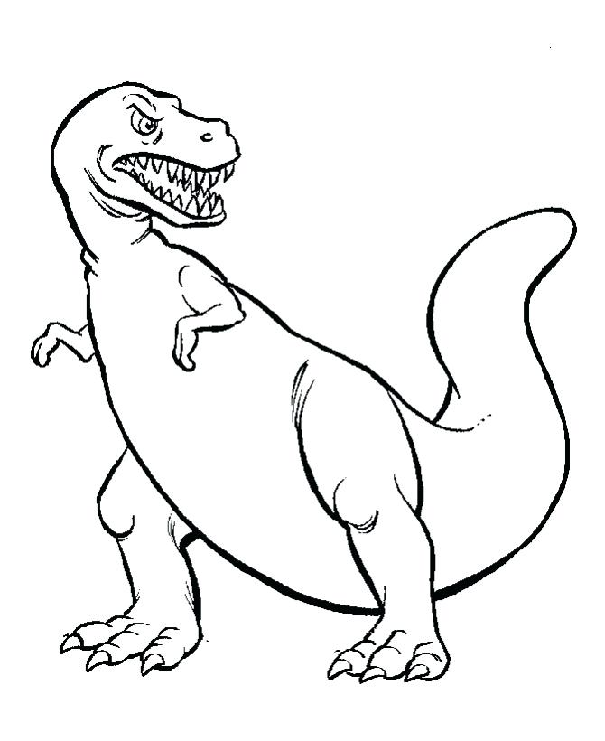 670x820 Dinosaur Coloring Pages For Toddlers Autoinsuranceny Club