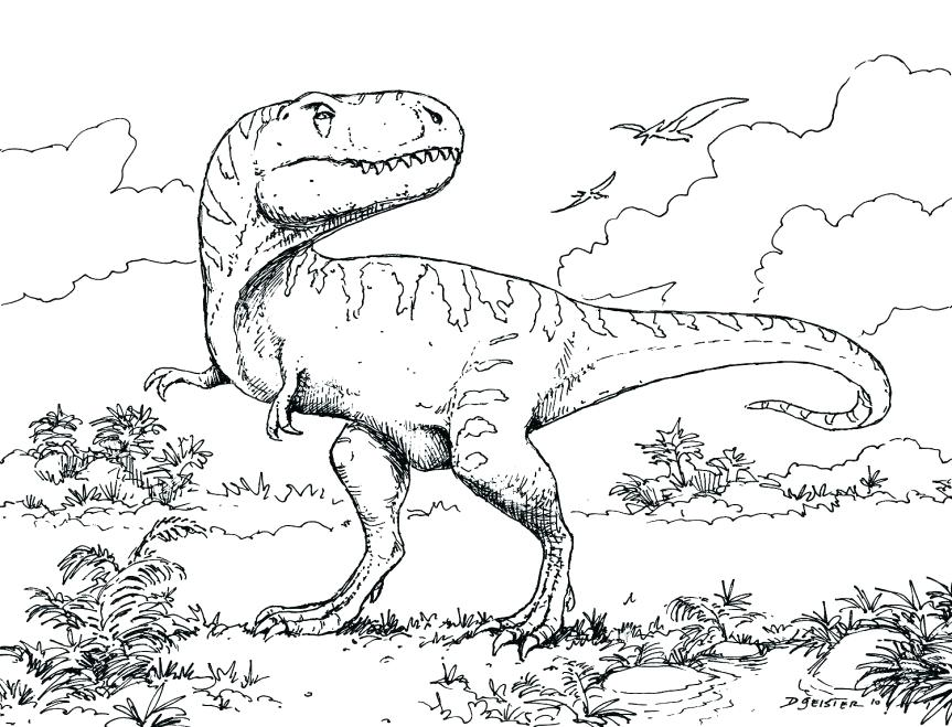 863x659 Good Dinosaur Coloring Pages Pdf Page Amusing Printable