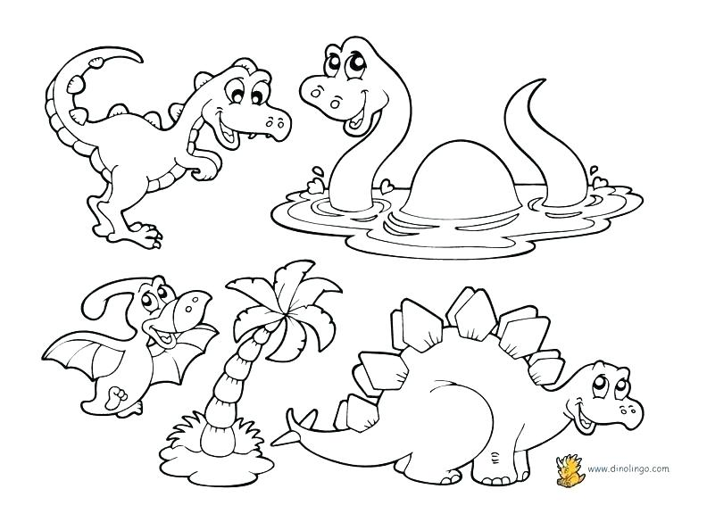 792x576 Dinosaur Coloring Pages Pdf Dinosaurs Coloring Pages T Baby