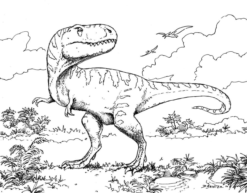1024x800 Coloring Pages Dinosaur Coloring Pages Pdf