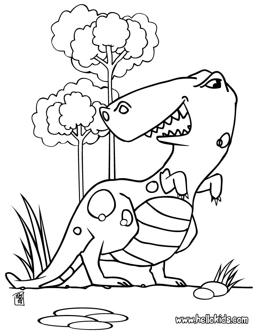 820x1060 Dinosaur Coloring Pages