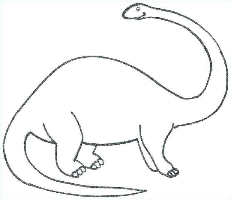770x666 Dinosaur Coloring Pages For Preschoolers Free Dinosaur Coloring