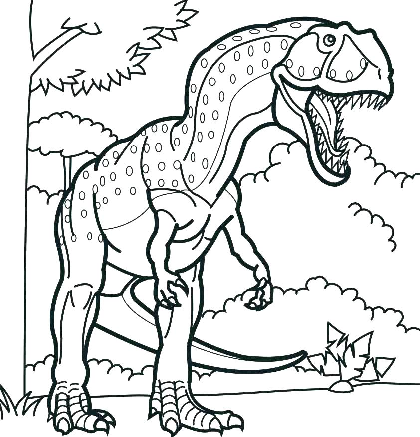 842x877 Dinosaur Coloring Pages Preschool Dinosaurs Color Pages Good