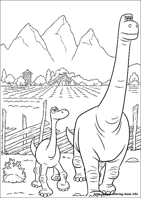 567x794 Dinosaur Printable Coloring Pages