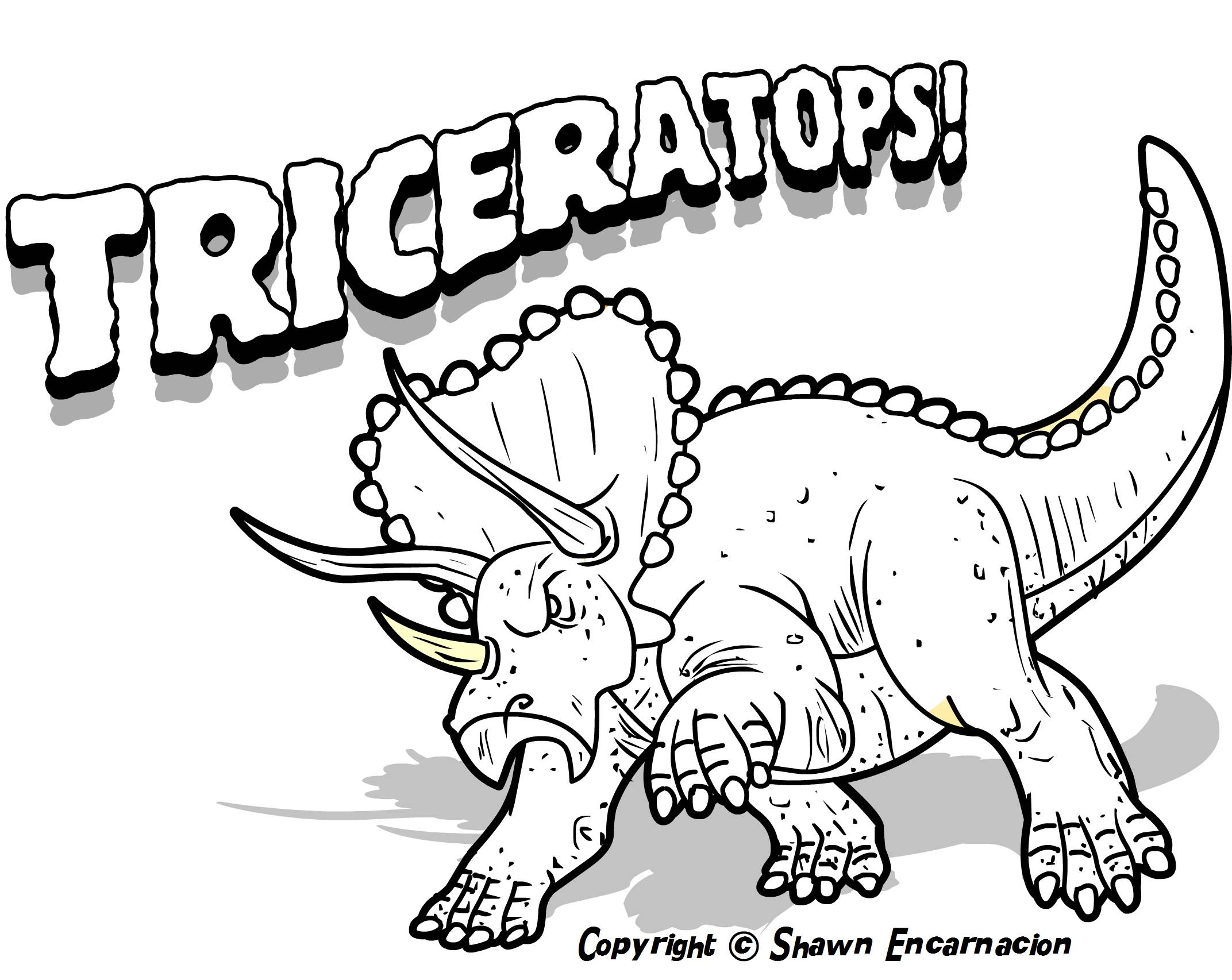 Dinosaur Coloring Pages To Print At Getdrawings Com Free For