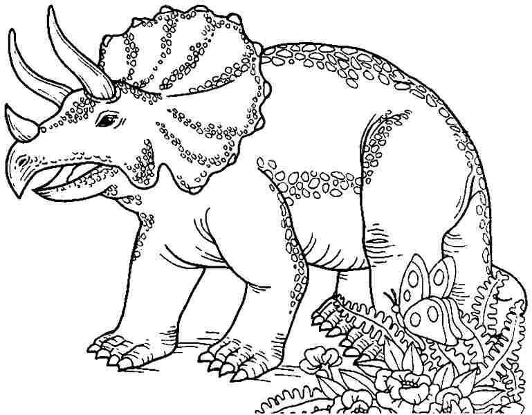 769x600 Dinosaur Coloring Pages T Rex Printable With Regard Dino