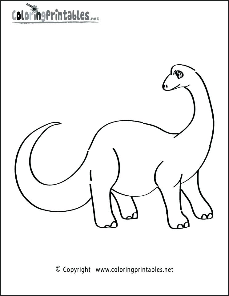 744x962 Dinosaur Coloring Pages Dinosaurs Coloring Page Cower For Dinosaur