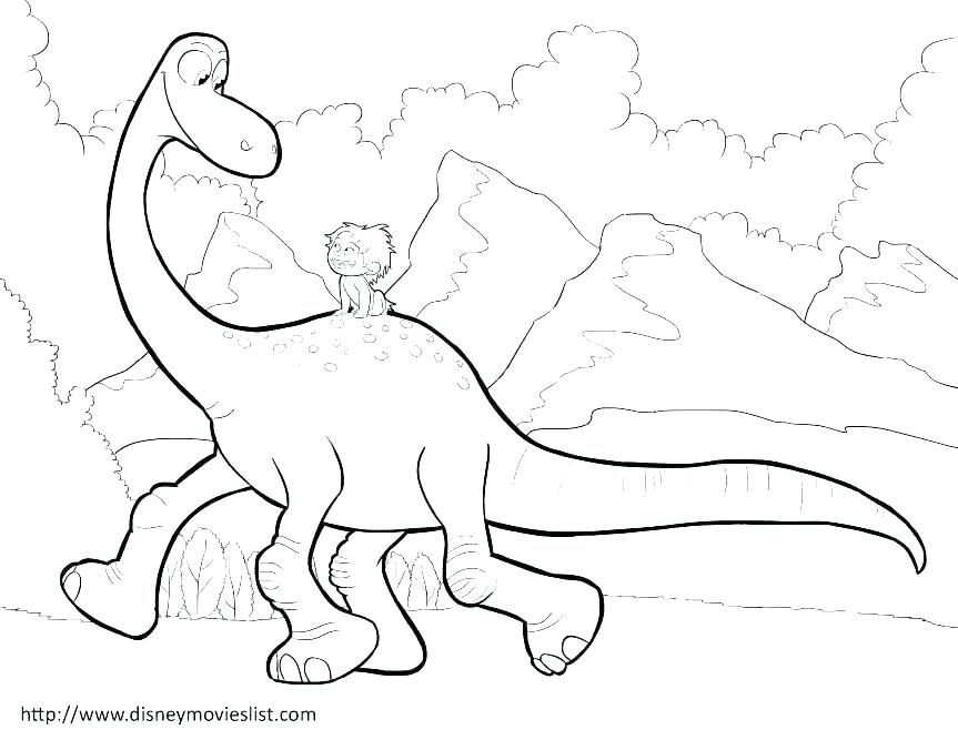 863x667 Free Printable Realistic Dinosaur Coloring Pages Free Coloring