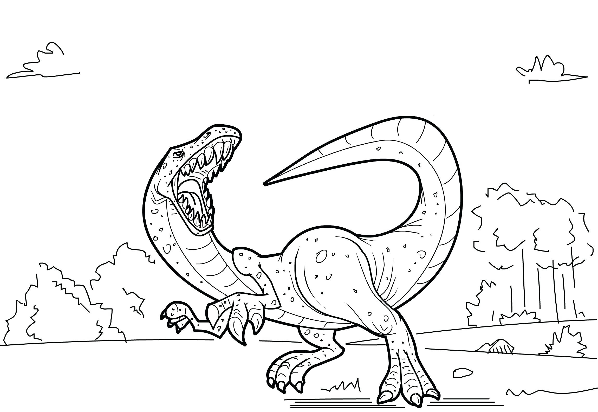 2300x1584 Tested Printable Pictures Of Dinosaurs To Color Free Realistic