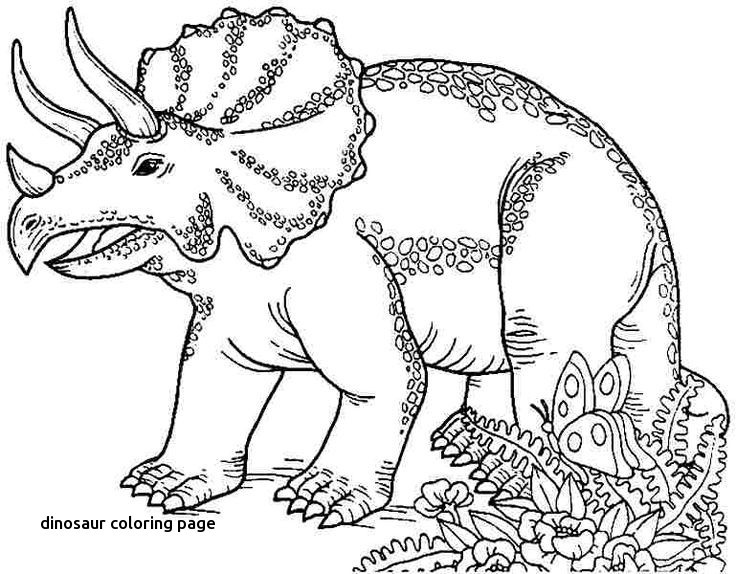 736x574 Triceratops Coloring Page Inspirational Dinosaur Coloring Page