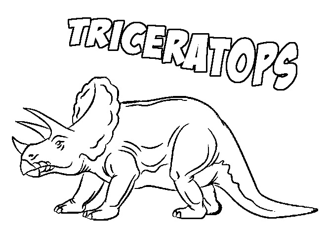 662x467 Triceratops Coloring Page Coloring Book
