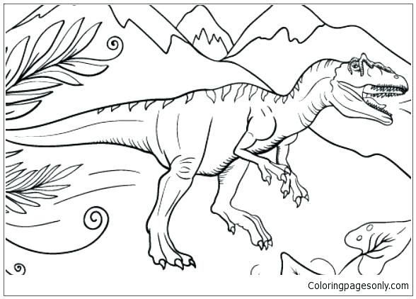 588x422 Triceratops Coloring Pages Dinosaur Colouring Pages These Are
