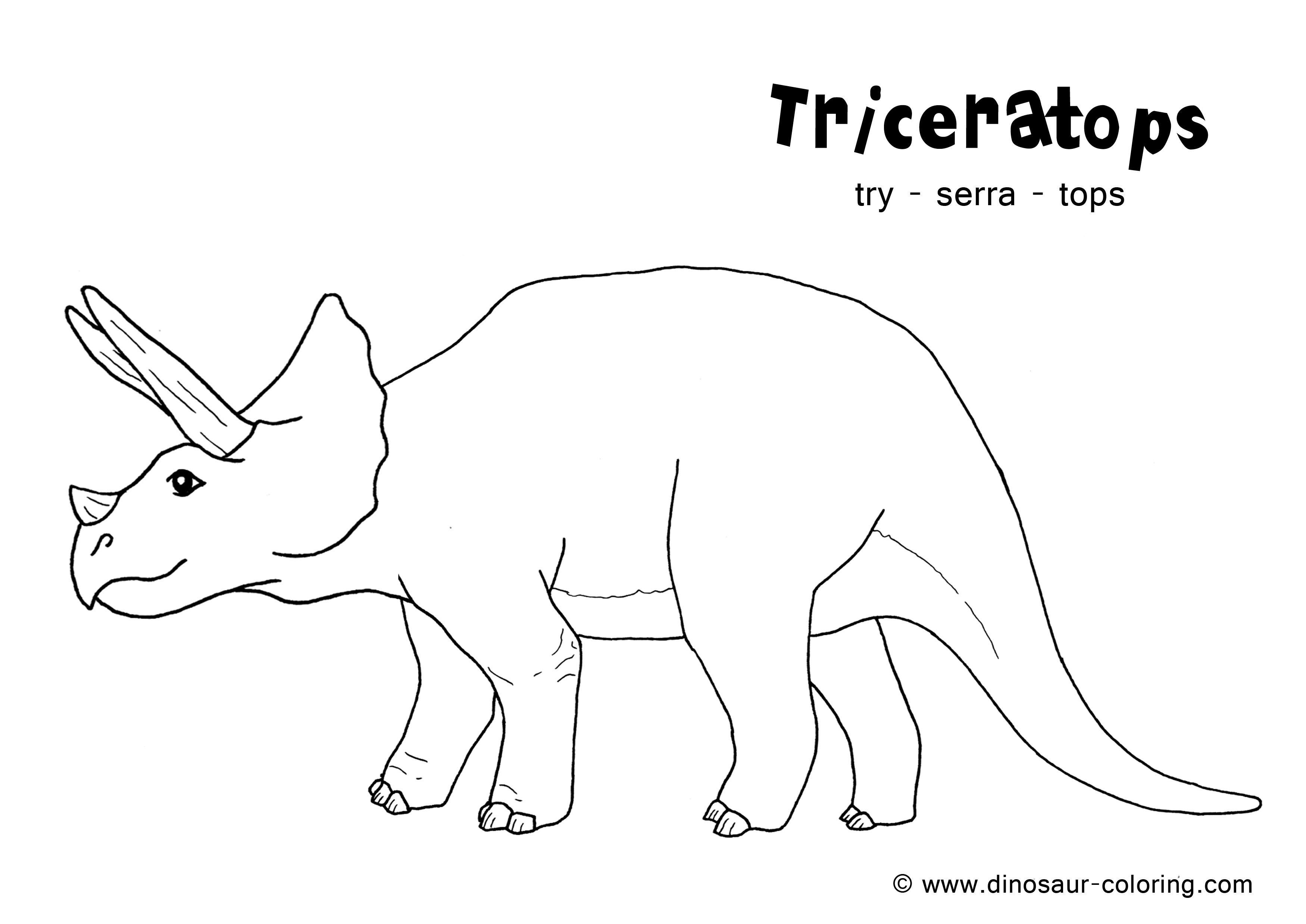 3500x2477 Dinosaur Coloring Pages Pdf Awesome Triceratops Coloring Logo